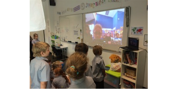 Mystery Skype in Action 2