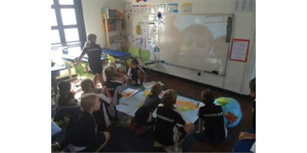 Mystery Skype in Action 3
