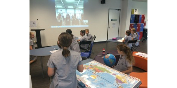 Mystery Skype in Action