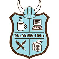 National Novel Writing Month Shield. Image courtesy of National Novel Writing Month