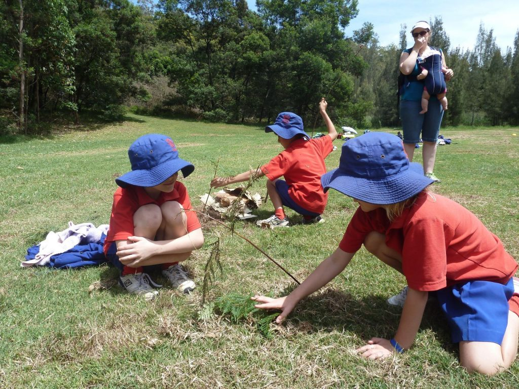 Destination outdoors: Primary school outdoor learning